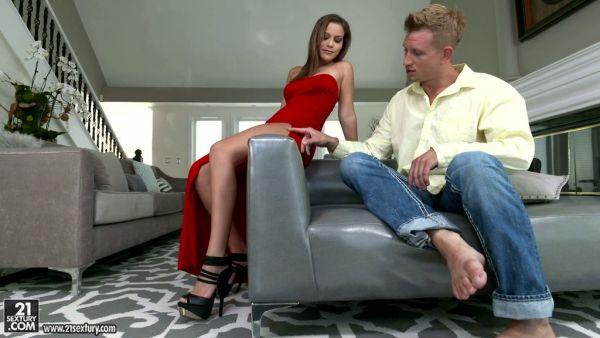 Excepcionalmente caliente los pies de adoración sesión con exóticos de la diva de la Karter Foxx