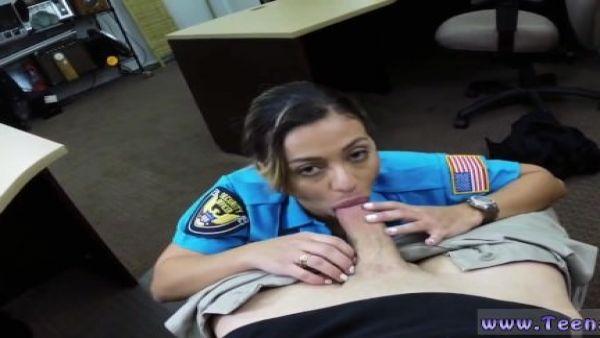 Joven mexicano Follando Ms Oficial de Policía