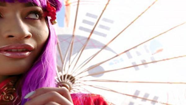 Avery Black, ninfómana alternativa asiática, es arada y jizzed por BWC