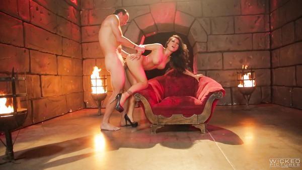Caliente Diablo con una gran polla dura de mierda Asiático pecador Asa Akira