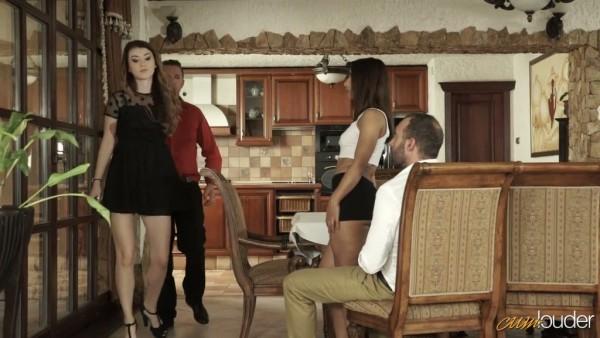 Cuarteto swinger inesperado con Misha Cross y Ria Rodrigez