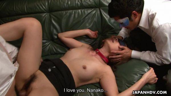 Dos chicos de cum dentro de maduro Asiático esposa puta Nanako Misaki