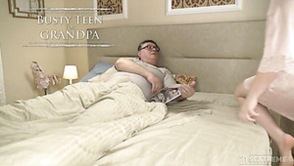Español pálido natural GF Diana Rius olas de más edad del hombre fuerte polla