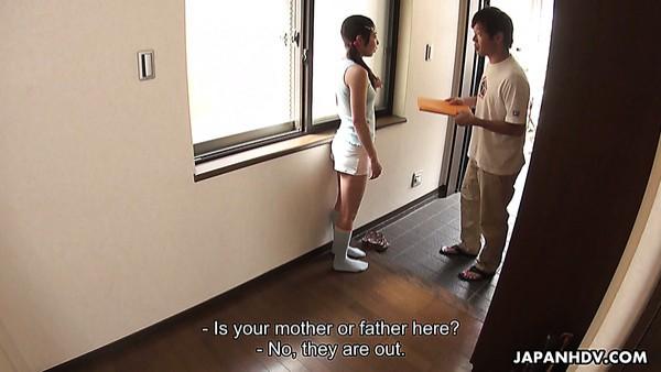 La traviesa Lulu Kinouchi es una jovencita japonesa que quiere ser follada