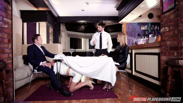 La única Anissa Kate lo hace engañar a su esposa durante la cita