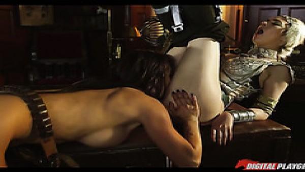 Lesbianas calientes Franceska y Sophia se comen y se meten los dedos