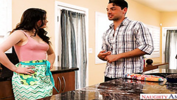 Morena lasciva Jenna J Ross seduce al marido de su mejor amiga