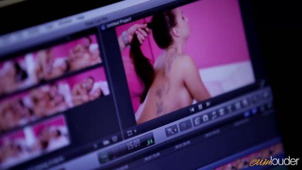 Porno editor folla a un español, estrella del porno Susy Gala en su sueño húmedo