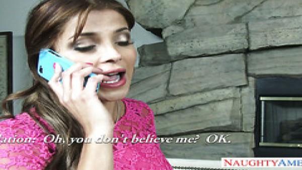 Templado caliente Latina puta Bianka engaña a su novio